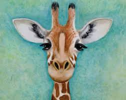 home decor giraffe mother s day gift giraffe art print giraffe wall art