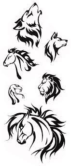simple tribal designs tribal tattoos tribal tiger