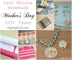 Homemade Gift Ideas by Last Minute Homemade Mother U0027s Day Gift Ideas Diy Inspired