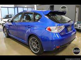subaru cars 2013 2013 subaru impreza wrx sti hatch wrb w less than 1k miles