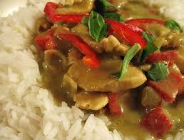 cuisine tha andaise poulet à la thailandaise au curry vert cuisine thailandaise des