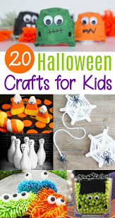 20 cute u0026 easy halloween crafts for kids