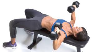 Chest Workout With Dumbbells At Home Without Bench Chest Flye Fry Oxygen Magazine