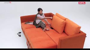 Furniture Sofa Hatil Smarfit Sofa Bed U0026 Storage Youtube