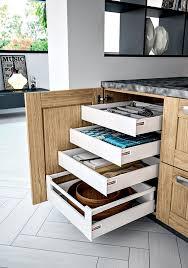 tiroir de cuisine coulissant meuble bas et armoire sagne cuisines