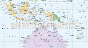 Guadalcanal Map Digital Vector Australasia Simple Region Country Map 10m Scale In