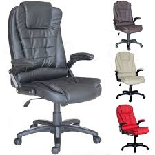 chair raygar luxury executive leather reclining padded pc office