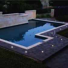 Outdoor Fence Lighting Ideas by Ground Cap Solar Light 6 Lights Per Box Life Saver Pool Fence