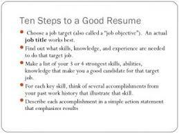 Building A Good Resume Resume Model Nardellidesign Com
