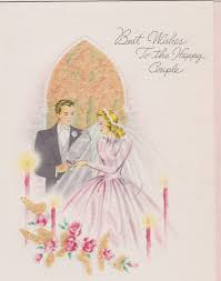 best wishes for wedding card these vintage wedding cards best wishes to the happy