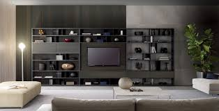 Modular Wall Units Contemporary Tv Wall Unit Lacquered Wood Modular Urban By