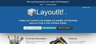 layoutit video 12 best bootstrap template builders free premium templates