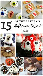 15 of the best easy halloween dessert recipes mm link party 173