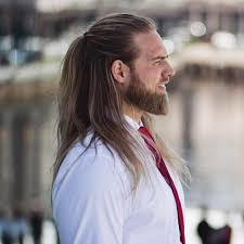 272 best half up half down with braids images on pinterest men with long hair lasse matberg