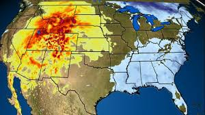 west to bake in record thanksgiving warmth as east shivers into