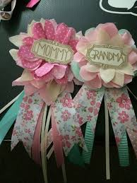baby shower ideas girl baby shower corsage ideas esfdemo info