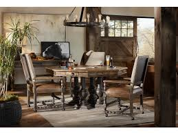 hill country dining room hooker furniture dining room castle hills 60in game table 5960
