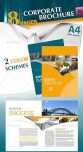 brochure template psd 3 web design u0026 development pinterest