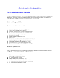 Sample Resume Of A Cook Cook Resume Sample Pdf Free Resume Example And Writing Download