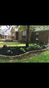 Designing Flower Beds Groundscape Installed Austin Stone Flower Bed Wall Landscape