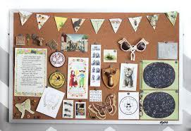 Pin Board Pin Board For Office Decorative Memo Cork Board Birds Cream Hand