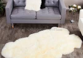 Faux White Sheepskin Rug Faux Fur Rug Tags Amazing Faux Sheepskin Area Rug Awesome Faux