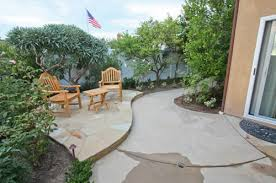 Concrete Backyard Ideas Creative Of Small Concrete Backyard Ideas Small Stone Patio
