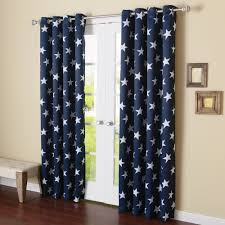 Navy Blue Blackout Curtains Walmart by Curtains Room Darkening Curtains White Grommet Blackout