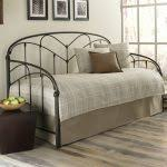 metal daybed with pop up trundle modern interior paint colors