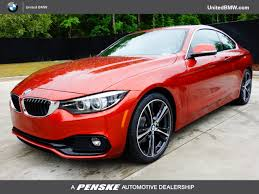bmw 4 series used 2018 used bmw 4 series 18 bmw 430i cpe 2dr cpe 430i sulev at