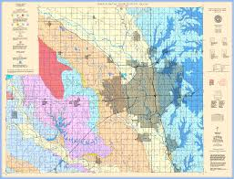 Kansas Counties Map Kgs Geologic Map Sedgwick Large Size