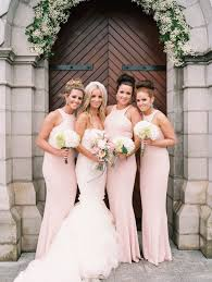blush wedding dress trend 2016 summer bridesmaid dress trends after finding your