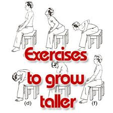 how to grow taller in a week exercises stretches to grow taller fast and easily grow
