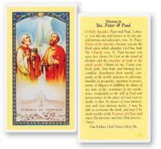 view all st prayer card from catholic faith store