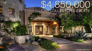 4 85 million dollar car collectors dream home scottsdale