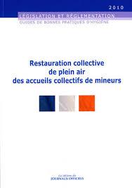 cuisine collective reglementation restauration collective de plein air des accueils collectifs de