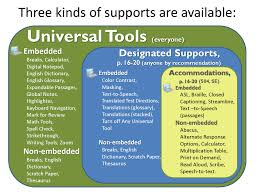 accommodations support for underrepresented students