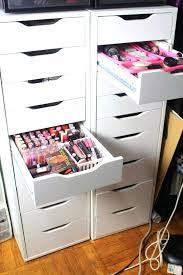 ikea makeup organizer makeup storage drawers cabinet accessories nice pictures makeup
