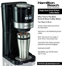 hamilton beach best grind and brew coffee maker ranked