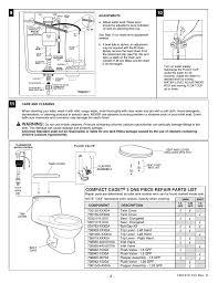 Eljer Canterbury Toilet Parts Inside Toilet Tank Inside Tankhow A Toilet Works Parts In A