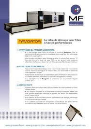 lade laser mf d礬coupe laser navigator groupe meyer catalogue