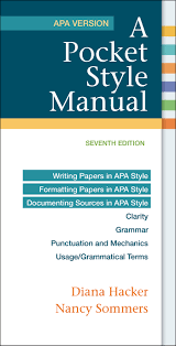 a pocket style manual apa version 9781319011130 macmillan