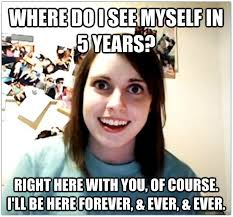 What Does Meme Mean And How Do You Pronounce It - overly attached gf where do you see yourself in ten years