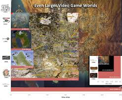 Tom Clancy S The Division Map Size Zelda Breath Of The Wild Map Size Compared To New York City Gaming