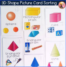 3d shapes worksheets sorting activities nets posters tpt