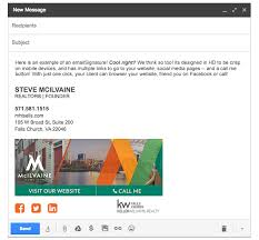 professionally designed custom email signatures for your small
