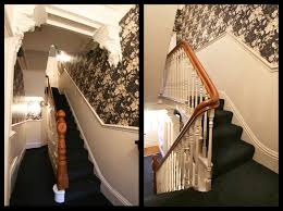 Hallway Wallpaper Ideas by Full On Glamorous Hallway In Communal Rental Property U2013 Landlords
