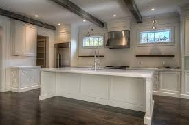 White Wood Ceiling by Ceiling Beams Design Ideas