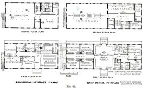 Ben Rose House Floor Plan Office Of Medical History Military Hospitals In The United States