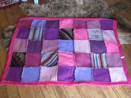 plaids en laine plaid patchwork laine bouillie polaire textiles et tapis par